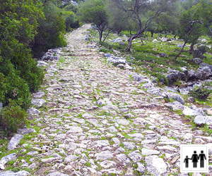 Calzada romana ruta Benaocaz