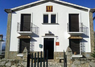 Entrada apartamentos Sierra Alta