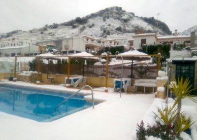 Invierno en apartametos Sierra Alta