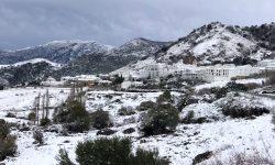 Paisaje nevado Sierra Grazalema 2
