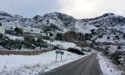 Paisaje nevado Sierra Grazalema 4